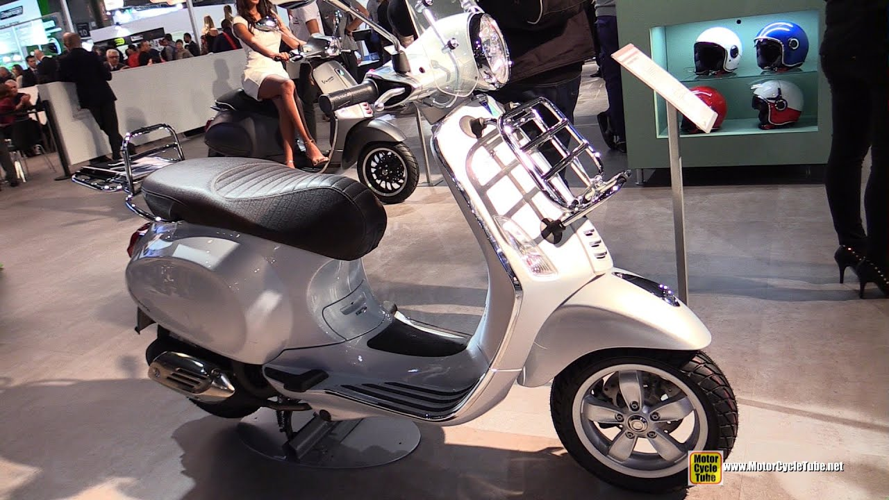 2015 vespa primavera 125 touring scooter walkaround. Black Bedroom Furniture Sets. Home Design Ideas