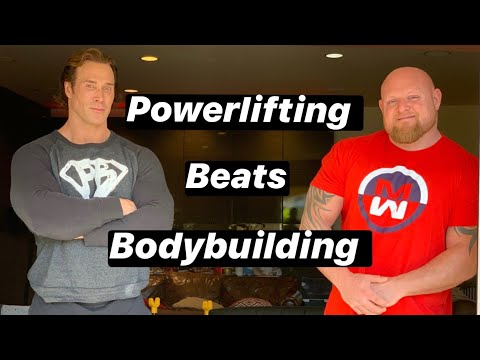 POWERLIFTING BEATS BODYBUILDING!