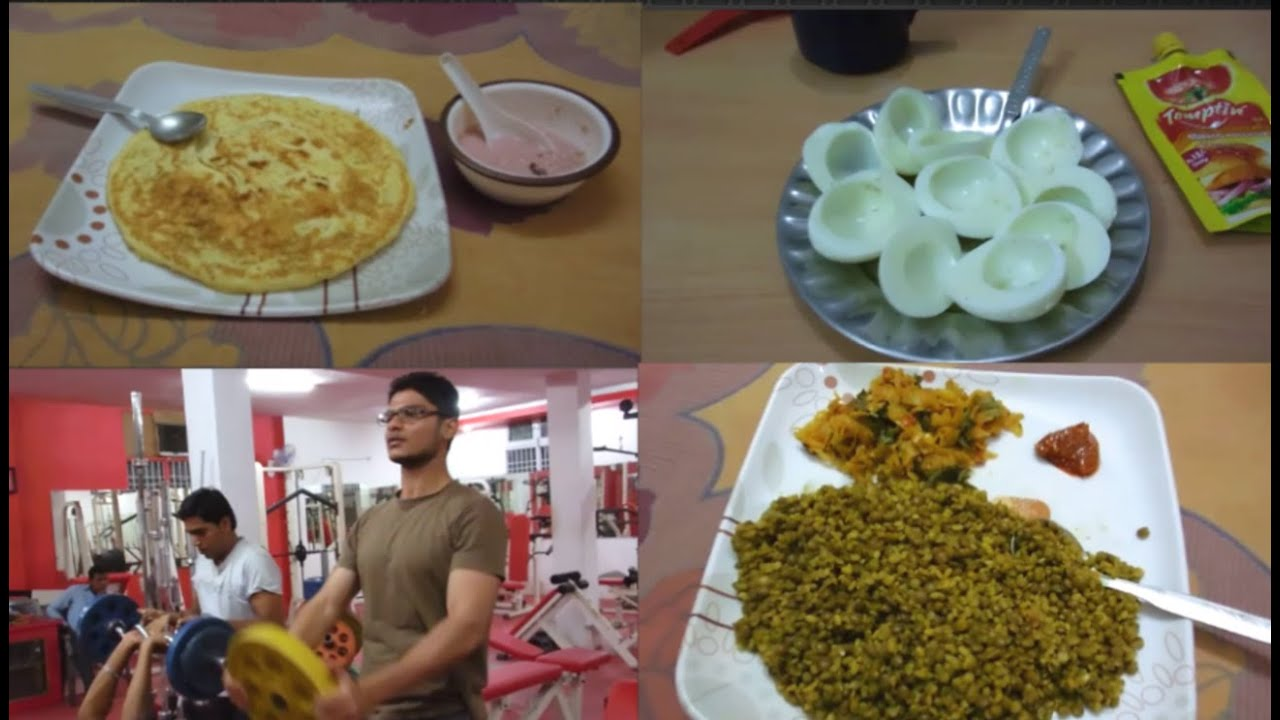 Full Day Of Eating On Bulk (unique indian bodybuilding