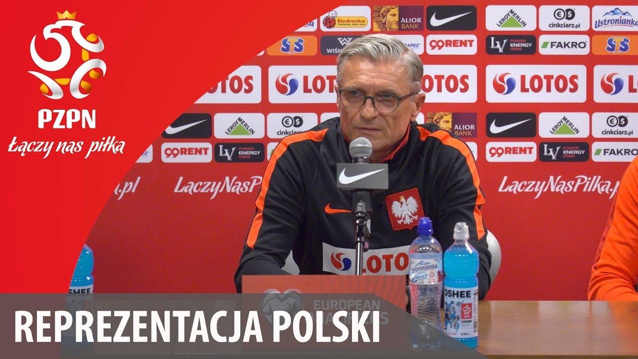 Konferencja prasowa przed meczem z Kazachstanem (Warszawa, 03.09.2017)