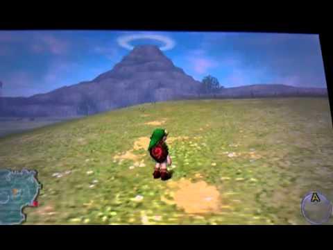 Zelda Ocarina Of Time 3ds Hyrule Field Youtube