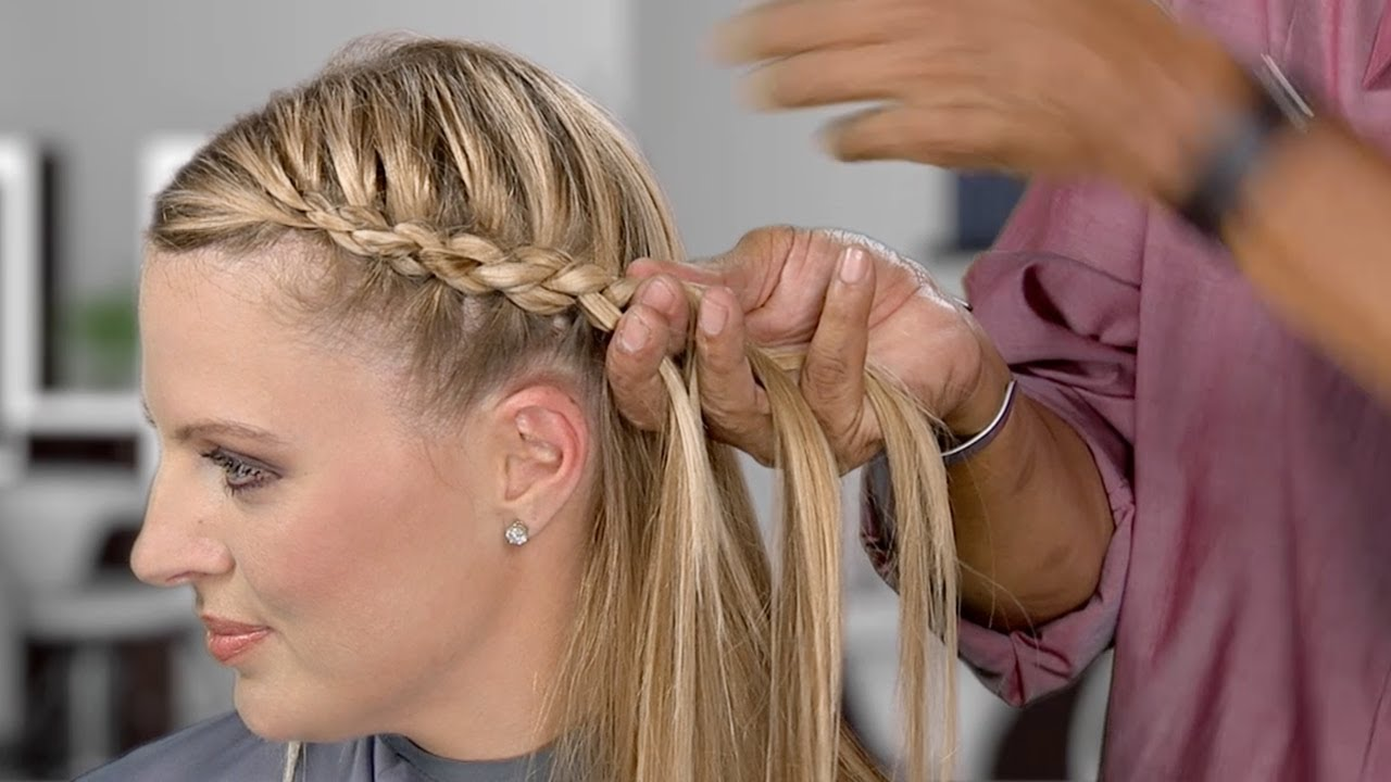 learn to braid! inside and outside plaits, 3-strand rope braid and 4-strand round braid
