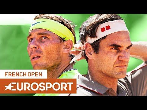 Rafael Nadal Vs Roger Federer Semi-Final Preview | Roland Garros 2019 | Eurosport