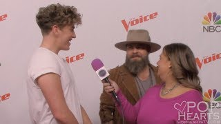 Noah Mac Interview -The Voice Season 13 Red Carpet - Team Jennifer Hudson