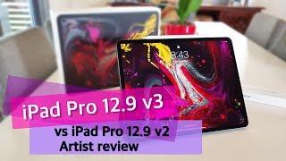 New 2018 iPad Pro 12.9 vs 2017 iPad Pro 12.9 Apple Pencil An Artist's Review