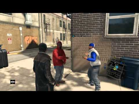 #Watch Dogs black rap nigga