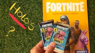 Panini Fortnite Series 1 Trading Cards (2019) - Two Pack Opening