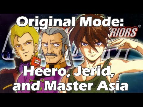 Dynasty warriors gundam 3 eng dub scenes full frontal a for Domon vs heero