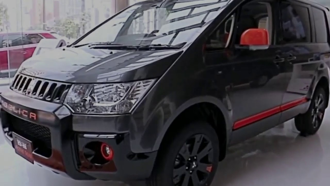 All New 2018 Mitsubishi Delica D 5 Photos Slide Youtube
