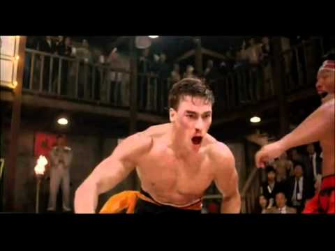 JeanClaude Van Damme: Bloodsport Final Fight 1988  High Quality