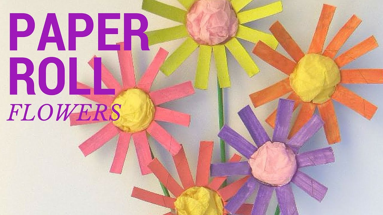 How to make a toilet paper roll flower toilet paper roll crafts how to make a toilet paper roll flower toilet paper roll crafts mightylinksfo