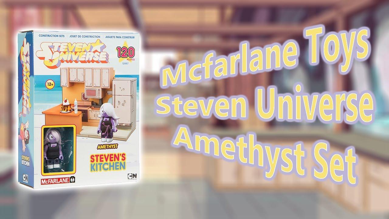 Steven Universe McFarlane Toy Set Build   Amethyst