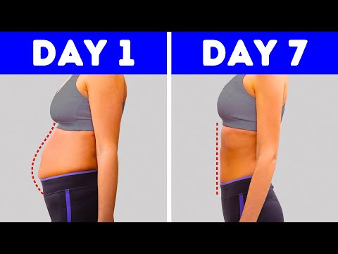 5-Minute Workout to Get a Flat Stomach In a Week