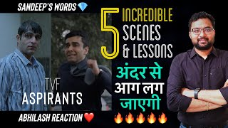 5 Incredible Scenes & Lessons From TVF Aspirants 🔥 IAS Motivation | UPSC | Life Changing Video