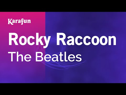 Karaoke Rocky Raccoon - The Beatles *
