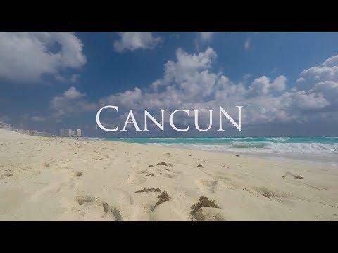 Chac Mool Beach - Cancun, Mexico - Timelapse