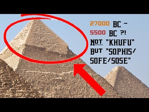 "WHAT?! Old Oral Tradition places GREAT PYRAMID ~27000-5500 BC? By a ""god king"", not KHUFU!?"