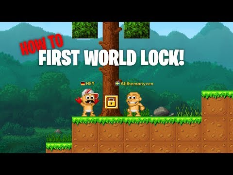 How To Get Your First WORLD LOCK | Pixel Worlds: MMO Sandbox