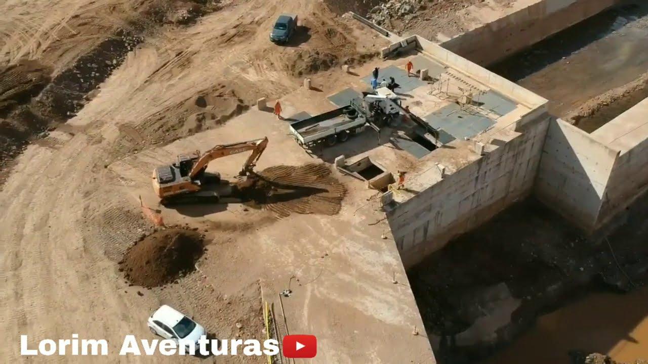 Imagens aéreas 23/09/2020 do reservatório de Jati-ce