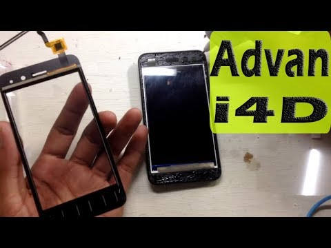 Cara Ganti lcd Touchscreen Advan i4d