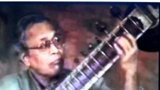 GREAT SITAR MAESTROS-Pt.Manilal Nag -raag bilaskhani todi.