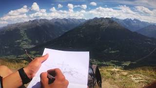 8 Minutes for drawing in alps