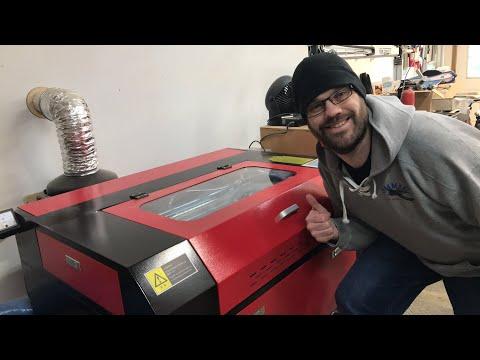 Laser Cutting Baltic Birch Plywood (eBay Laser)