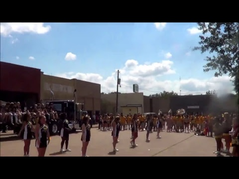 Timpson High School Homecoming Parade 2017
