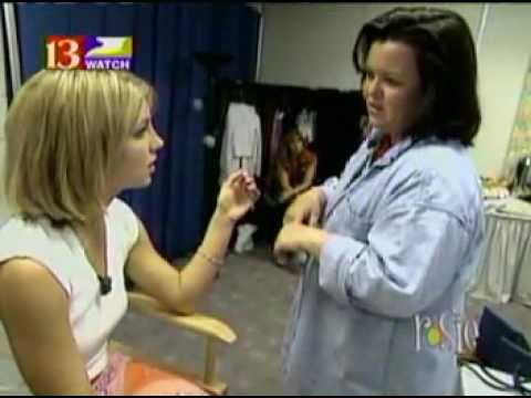 Britney Spears on The Rosie O'Donnell Show 'Backstage Pass' Crazy2k Tour 2000 FULL Episode