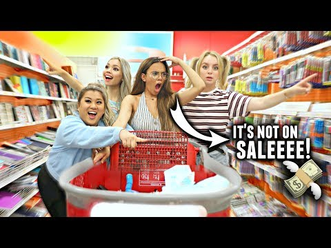 WHY BACK TO SCHOOL SHOPPING SUCKS With Your Mom! (Funny Video 2017)