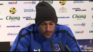 Everton's Tim Howard on his review of the season so far | Everton v Sunderland