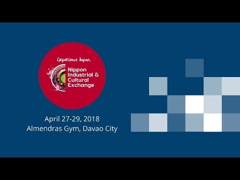 LIVE STREAM: Nippon Industrial and Cultural Exchange 2018