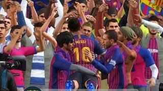 PES 2019 El Clasico FC Barcelona v Real Madrid CF Full Match