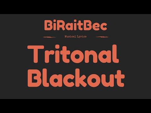 Tritonal - Blackout - Lyrics