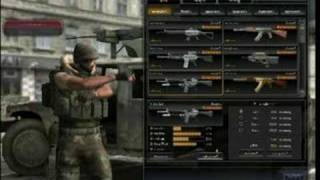 Point Blank Game Interface