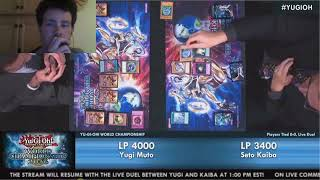 Let's Watch Yu-Gi-Oh Yugi VS Kaiba Live Duel World Championship 2016