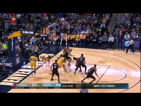 Houston Rockets at Denver Nuggets - December 2, 2016