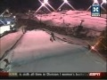 Winter X Games Skiing Big Air Simon Dumont Double Front Flip.