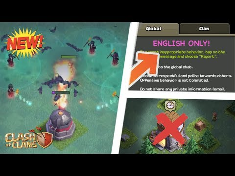 HUGE UPDATE: Global Chat Fix, RIP Clock Tower, Night Witch, Roaster, And More! | Clash Of Clans