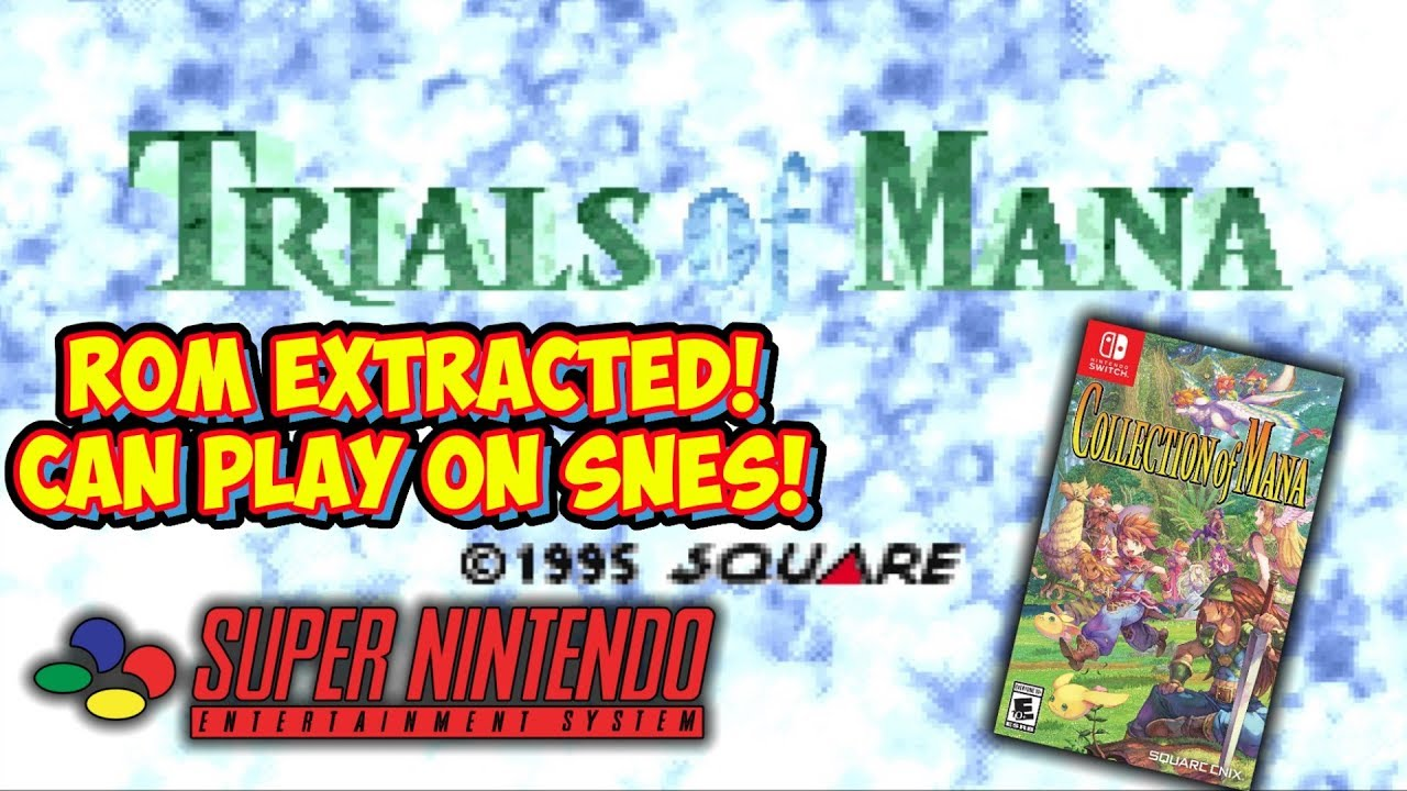 Trials Of Mana Rom Extracted From Switch! Playable On Super