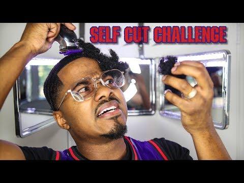SELF CUT CHALLENGE
