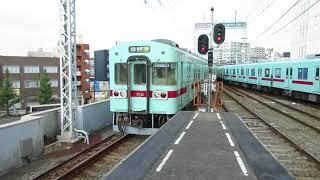 【1080p】西鉄5000形&6000形 in久留米駅