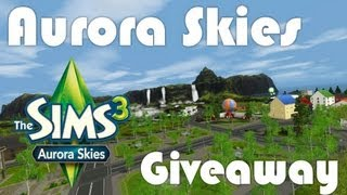 Aurora Skies - Giveaway - DutchSims 3 Master