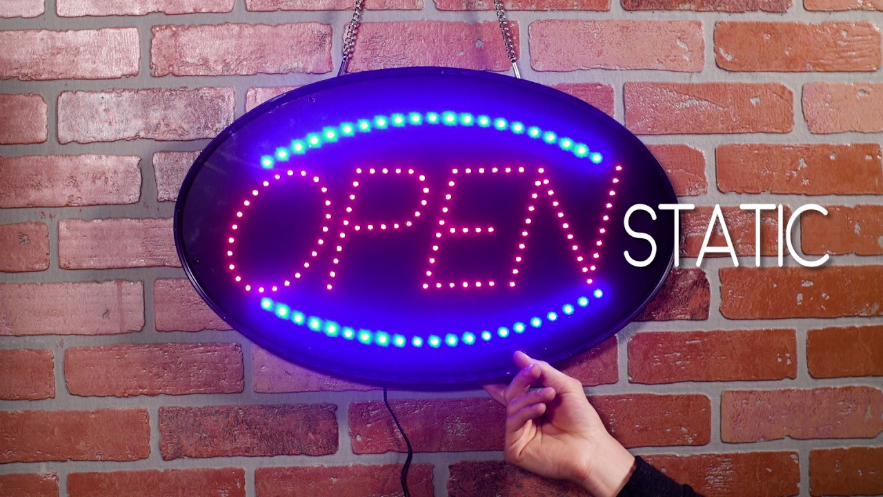 Choice Led Open Signs