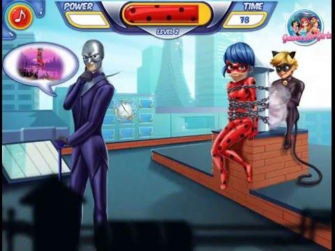 Мультик игра Супер Кот спасает Леди Баг (Cat Noir Saving Ladybug)