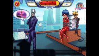Мультик игра Супер Кот спасает Леди Баг (Cat Noir Saving Ladybug)(Играйте в игру