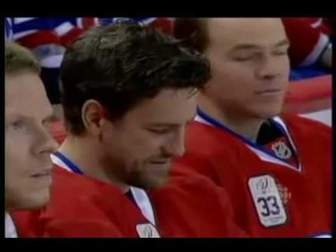 Patrik Roy 33 Number Ceremony In Montreal Part 1 Of 3
