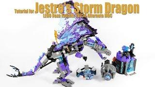 Tutorial for Jestro's Storm Dragon - LEGO Nexo Knights 70356 Alternate MOC