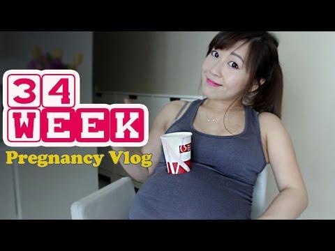 34 Week Pregnancy Vlog