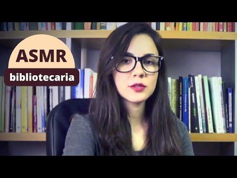 ASMR ESPAÑOL Roleplay Biblioteca + Lectura (oído a oído e inaudible)